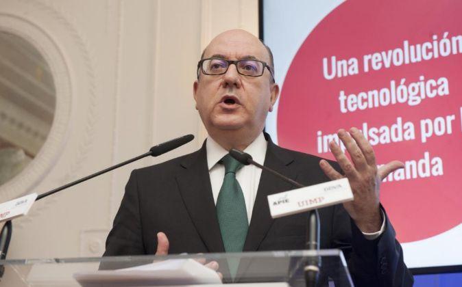 José María Roldán, presidente de la Asociación Española de Banca...