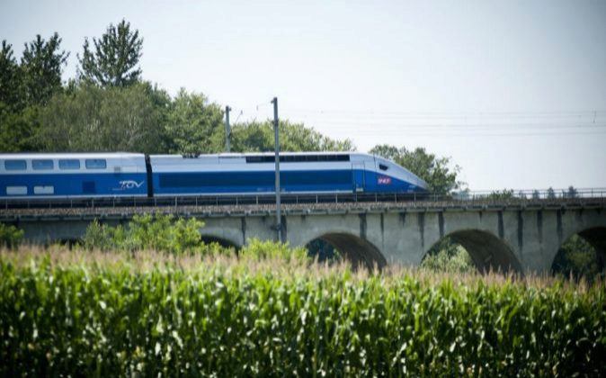 Tren Euroduplex de Alstom.