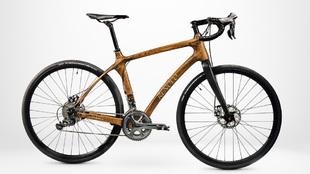 Bici madera barricas de whisky