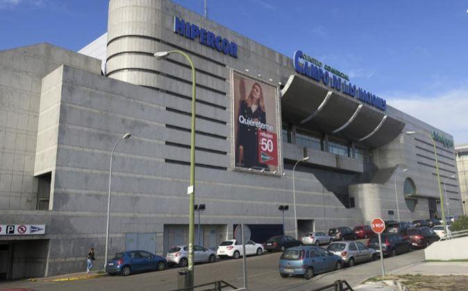 En la imagen, vista del centro comercial Campo de las Naciones, en...