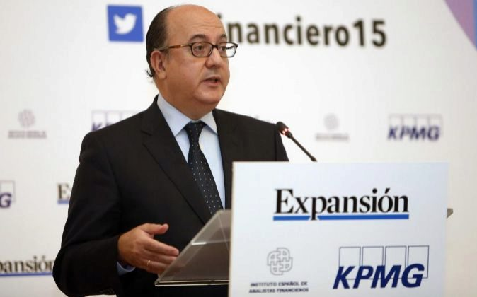JORNADAS VI ENCUENTRO FINANCIERO EXPANSION KPMG. EN LA IMAGEN, JOSE...