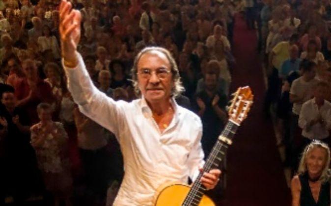 Pepe Habichuela, el homenajeado en el festival.