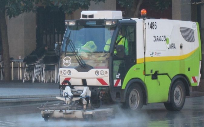 Servicios de limpieza en Zaragoza.