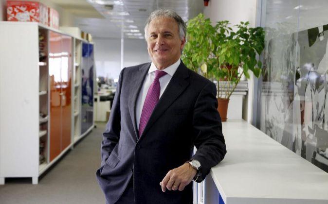 Josep Bou, presidente de la Asociación de Empresarios de Cataluña,...