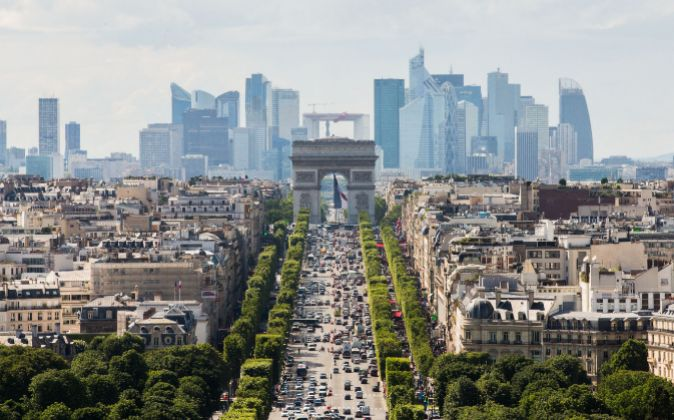 Los Campos Elíseos de París