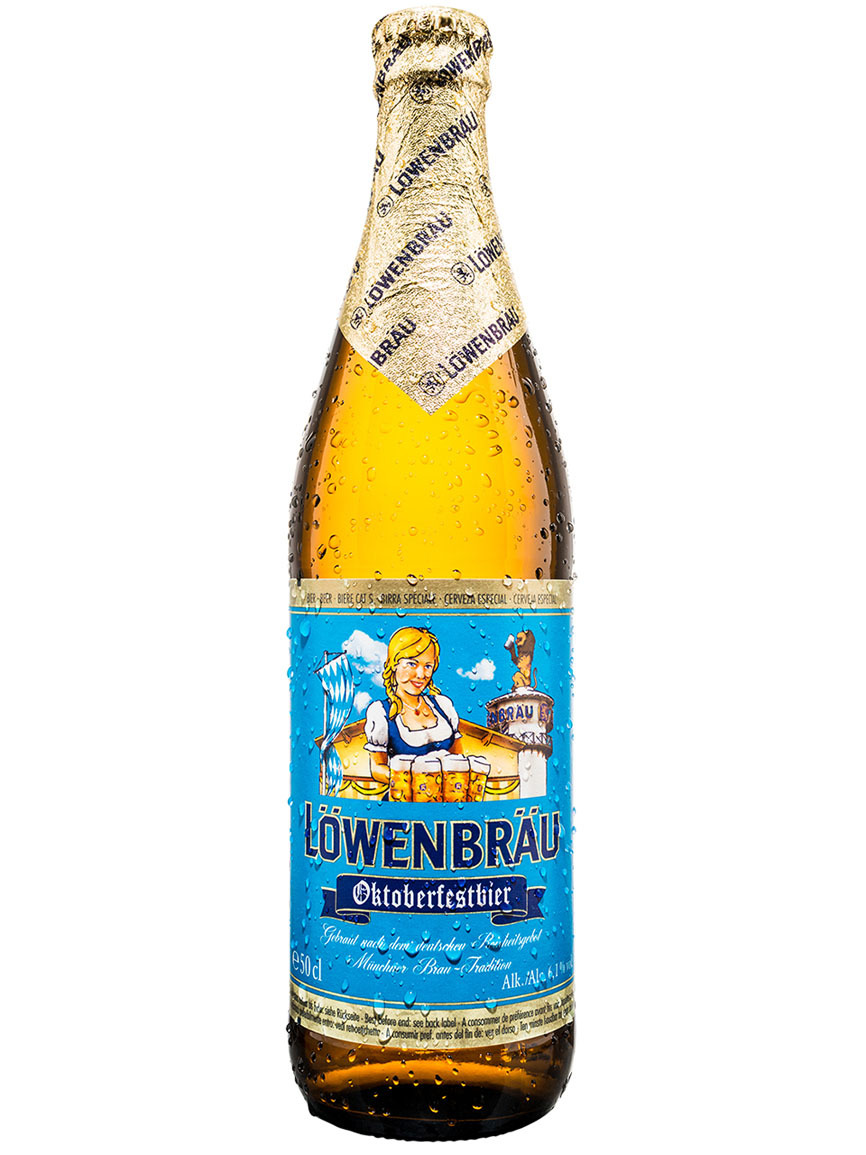 La cervecera del León elabora una märzen de color dorado y con un...