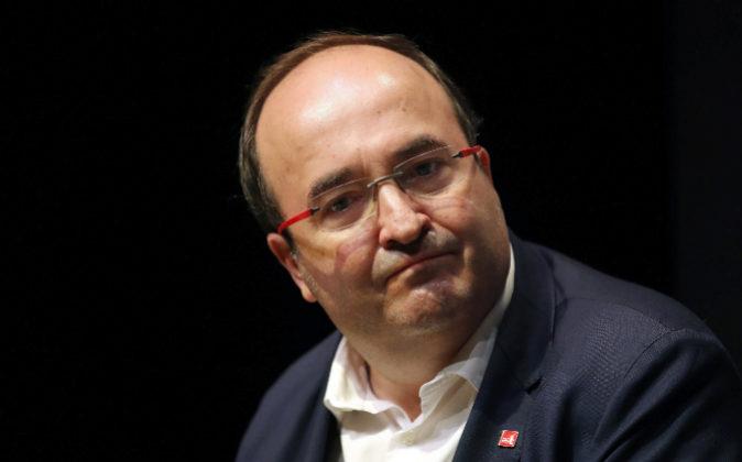 Miquel Iceta, primer secretaria del PSC.