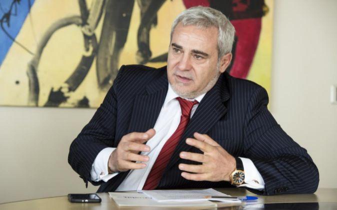 Félix Abanades, presidente de Quabit.