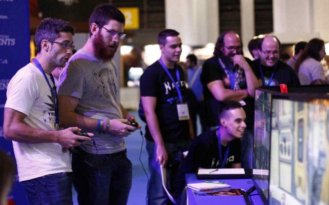 Visitantes de la edición Games World del año pasado.