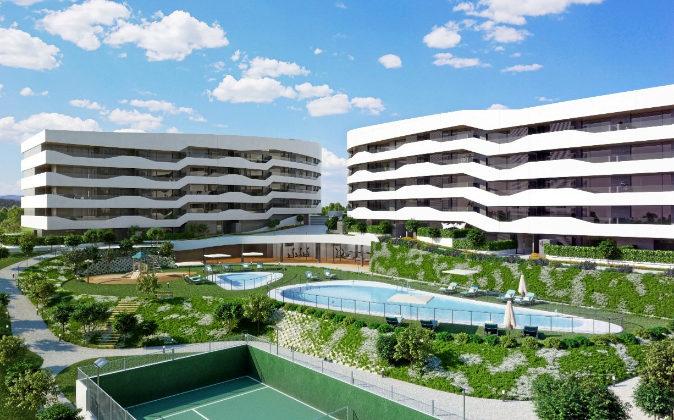 Alea Homes. Conjunto residencial en urbanización cerrada, piscina...