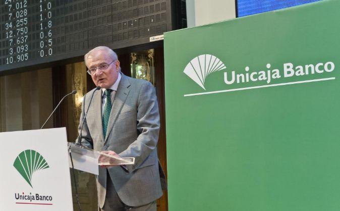 El presidente del Grupo Unicaja, Manuel Azuaga.