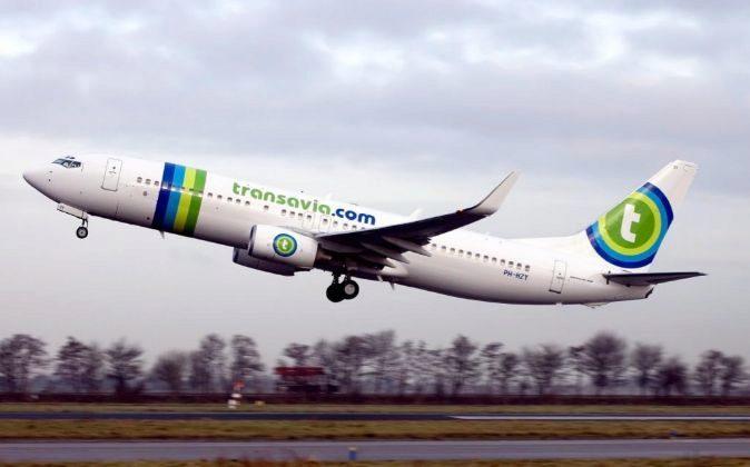 Avión Boeing 737-800 de Transavia.com.