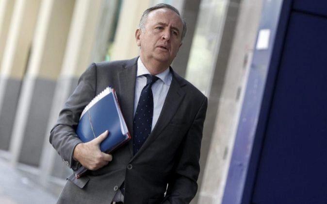 El expresidente de Pescanova, Manuel Fernández de Sousa, en 2013 a su...