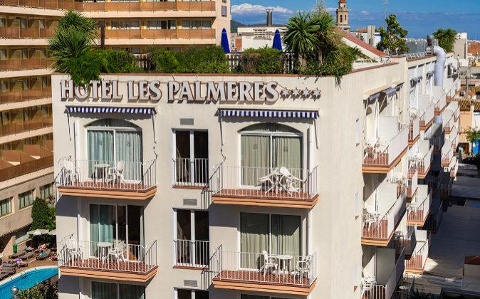 Hotel Les Palmeres en Calella, uno de los que ha expulsado a los...