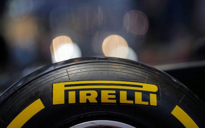 Neumático de Pirelli.