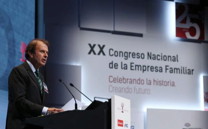 El presidente del Instituto de la Empresa Familiar, Ignacio Osborne,...