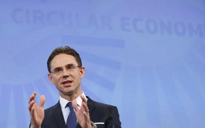 Jyrki Katainen, vicepresidente de la Comisión Europea.