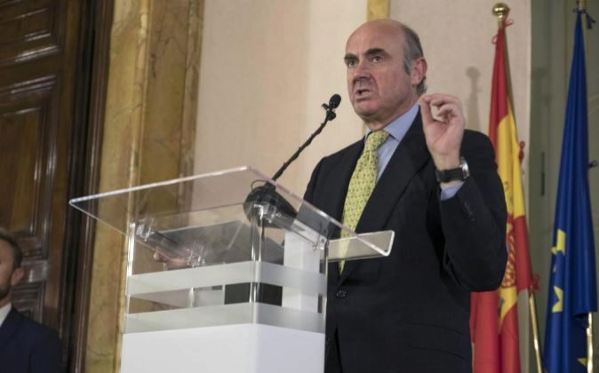 El ministro de Economía, Luis de Guindos.