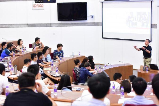 China Europe International Business School (Ceibs), en Shanghái.