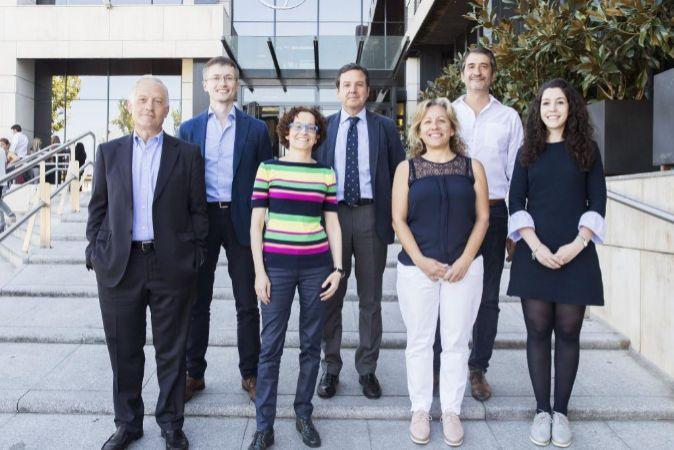 Miembros del jurado de los 'XV Premios Emprendedores&Empleo a...