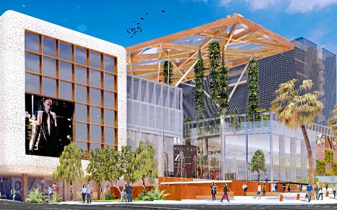 Imagen virtual del futuro centro comercial Finestrelles Shopping...