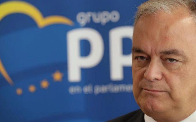 El portavoz del PP y vicepresidente primero del Grupo del Partido...