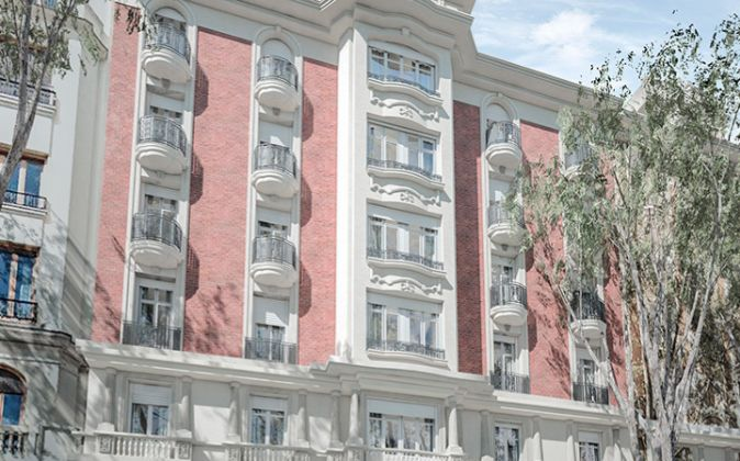 Imagen de un edificio en la calle General Martínez Campos 19 en el...