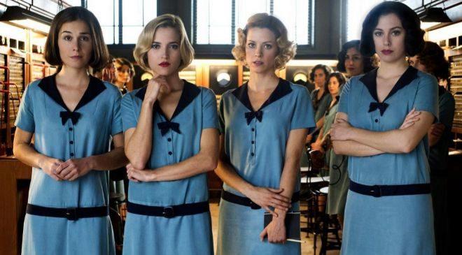 Las actrices protagonistas de 'Las chicas del cable', la...