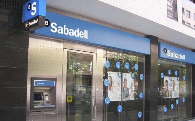 Sucursal de Banco Sabadell.