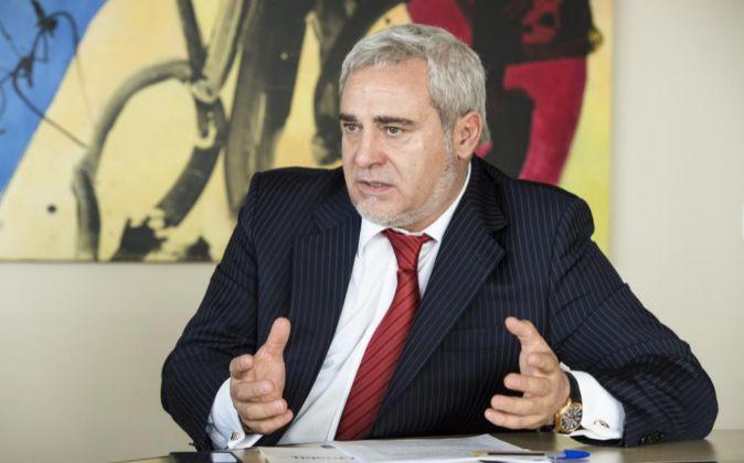 Félix Abanádes, presidente de Quabit.