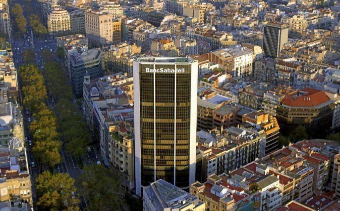 Sede corporativa de Banco Sabadell.