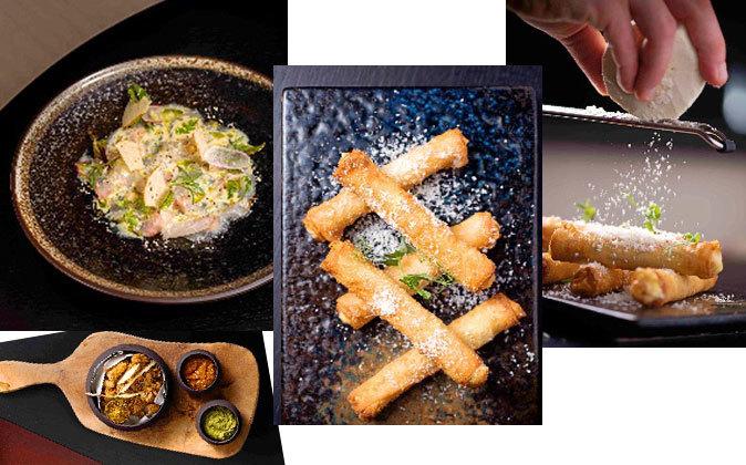 La propuesta del chef Colin Clague (restaurante Rüya) incluye varios...