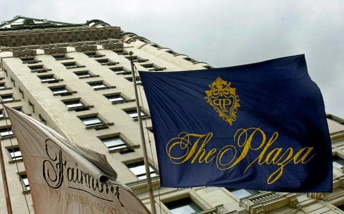 El hotel Plaza ha sido escenario de películas como 'Desayuno con...