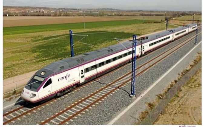Imagen de un tren de Renfe.
