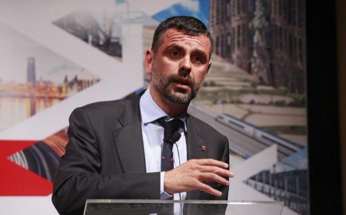 El conseller de Empresa, Santi Vila.