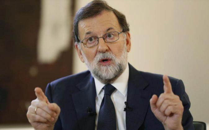 El jefe del Gobierno, Mariano Rajoy.