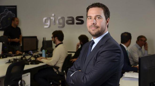 Fotografía facilitada por la compañía española Gigas Hosting.