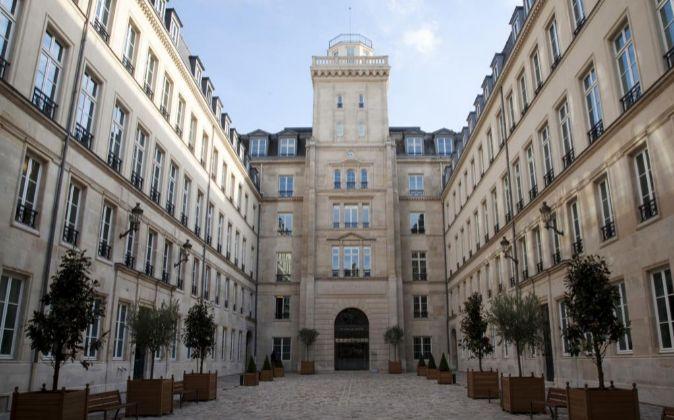 Sede de la Autoridad Europea de Valores y Mercados, ESMA, en París