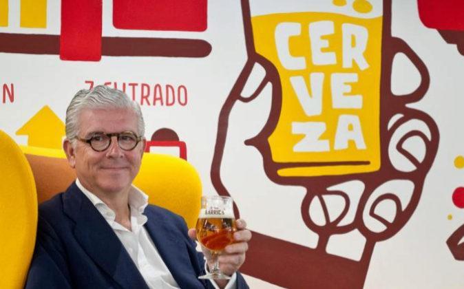 Alberto Rodríguez Toquero, director general de Mahou San Miguel