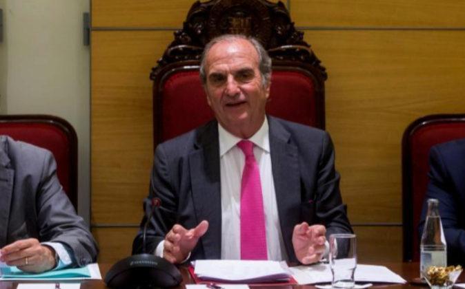 El presidente de la patronal catalana de Foment del Treball, Joaquim...