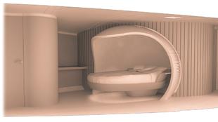 Diseño del camarote del armador.