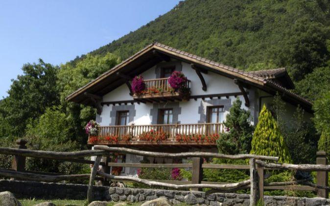 Casa rural en Vizcaya.