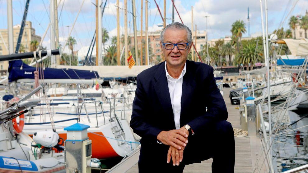 El presidente del Salón Náutico de Barcelona, Luis Conde. | Antonio...