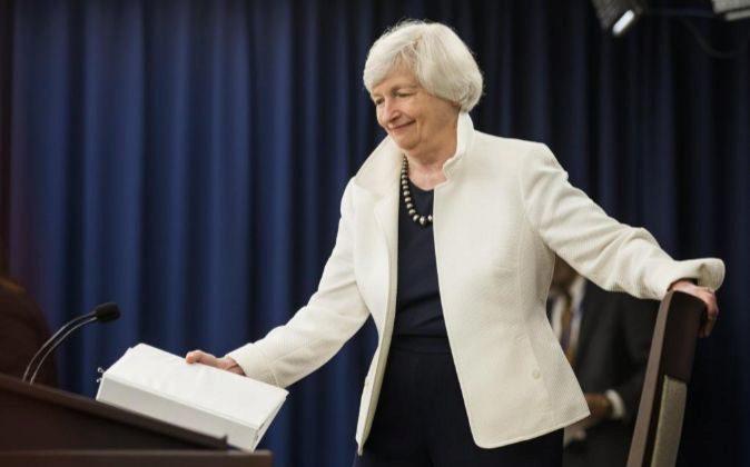La directora de la Reserva Federal, Janet Yellen.