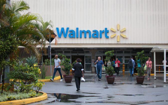 Centro de Walmart.