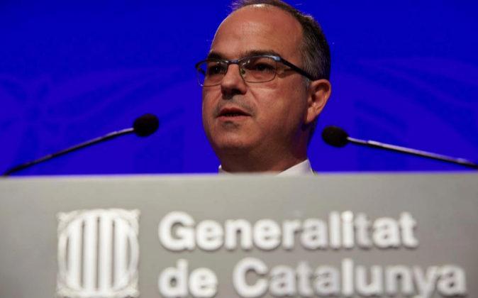 El conseller de Presidencia y portavoz de la Generalitat, Jordi...