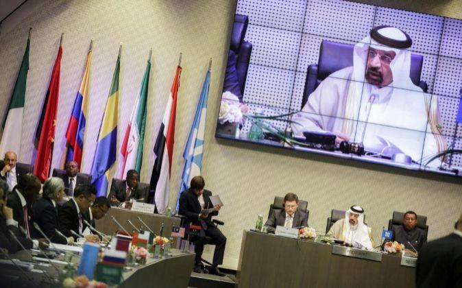 Imagen de la cumbre de la OPEP celebrada en Viena el pasado mes de...