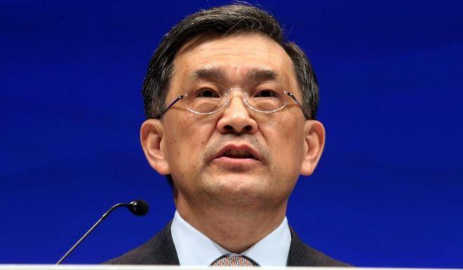Kwon Oh-hyun, vicepresidente y consejero delegado de Samsung...