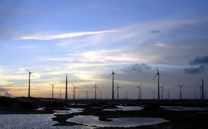 Parque eólico de Iberdrola en Brasil