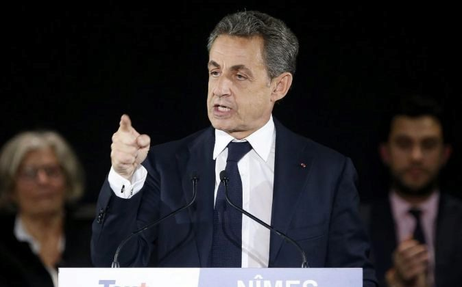 El expresidente francés, Nicolas Sarcozy. Foto de archivo.